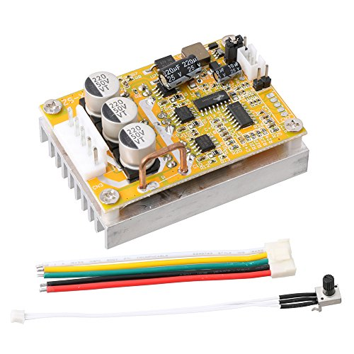 Drei-phasen-motor-controller (lyws DC 5V-36V 350W Brushless Motor Controller normal-reverse PWM Control BLDC Treiber BOARD W/Kühlkörper)