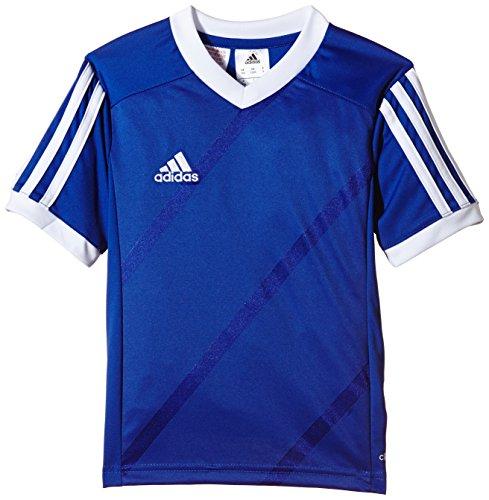 adidas Maglietta da calcio, da bambino Tabela14, Bambini, Trikot Tabela 14, blu cobalto/bianco, M