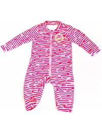 Surfit Girl's Baby Striped Baby Romper UV50 Plus