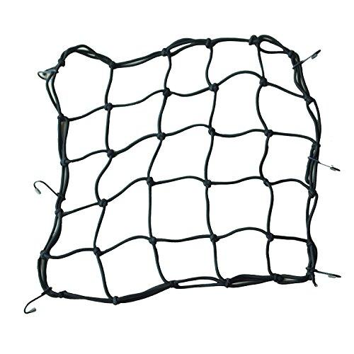 Corda rete elastica - SODIAL(R) Premium Bike Bungee Rete di carico - X-spessa Cord - 6 ganci
