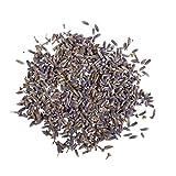 Rayher Hobby 34240000 Lavendelblüten, 5 g, getrocknet, duftintensive, aromatische Deko, Blütenmischungen zum Verzieren, ideal zum Einarbeiten in Badekugeln, Knetseife und Badesalz, Echtblüten