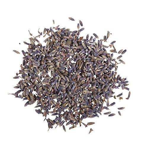 Rayher Hobby 34240000 Lavendelblüten, 5 g, getrocknet, duftintensive, aromatische Deko, Blütenmischungen zum Verzieren, ideal zum Einarbeiten in Badekugeln, Knetseife und Badesalz, Echtblüten -