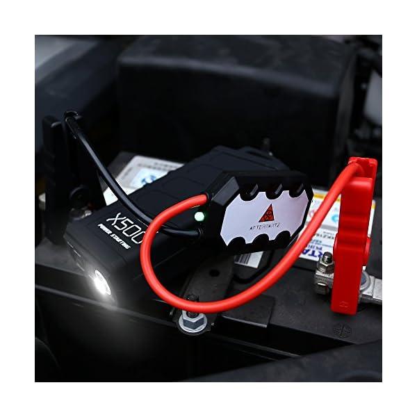 Afterpartz – Arranque de emergencias Portátil para coche