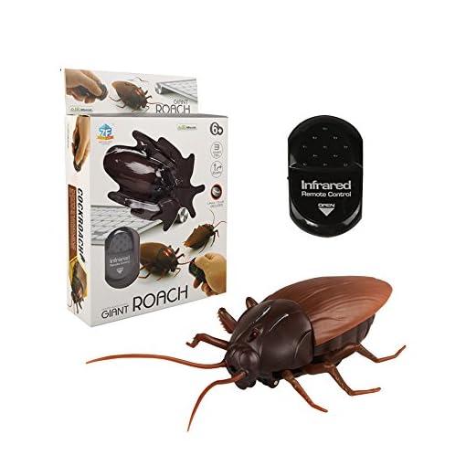 Fernbedienung-realistisch-geflschte-Kakerlake-RC-Streich-Spielzeug-Insekten-Witz-gruselig-Trick