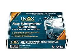 INOX Nano Scheinwerferaufbereitung-Set - Nanoversiegelung für Auto-Scheinwerfer