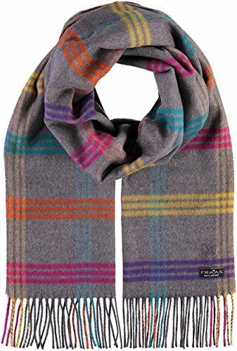 FRAAS Cashmink®-Schal mit Karo-Design Grau