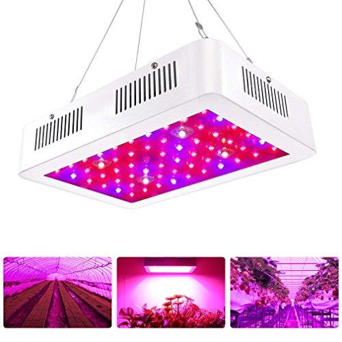 Pflanzenlampe 600w, Roleadro LED Grow Light Lampe mit UV IR Licht Wachstumslampe für Zimmerpflanzen Hydroponic im Grow Zelt Gewächshaus Blume und Gemüsse (600w Led)