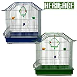 Heritage Cages 18108A Somerset Bird Cage Budgie Finch Canary 42 x 29 x 47cm Budgies Medium Pet Home
