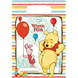 Disney Winnie The Pooh Party Bags, Pack of 6