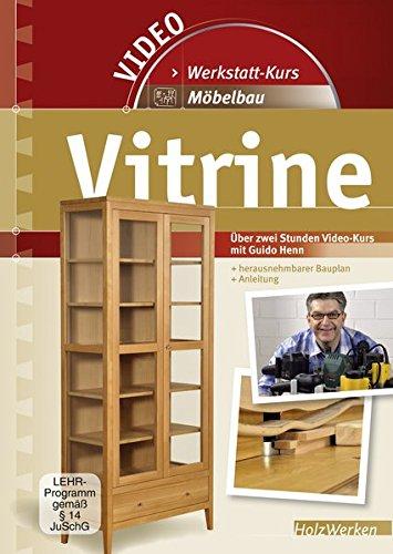 Vitrine - Möbelbau, DVD m. Buch