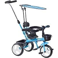 boppi® Triciclo 4 en 1 para niños de 9 a 36 Meses - Azul