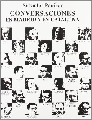 Conversaciones en Madrid y Cataluna por Salvador Paniker Alemany epub