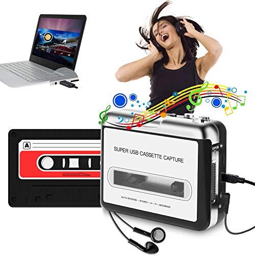 Portable Cassette Player, USB Ca...