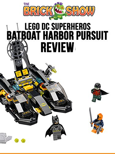 Review: Lego DC Superheros: Batboat Harbor Pursuit Review [OV] (Lego 2015 Batman-sets)