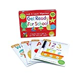 ISBN: 1438078102 - Get Ready for School: Four Books and a Pen to Use Over & Over Again! (Look & Learn Wipe-Clean Books)