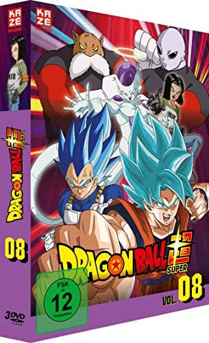 Dragon Ball Super - DVD Box Vol.8 - Episoden 113-131