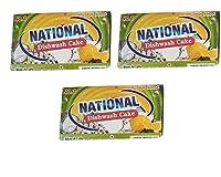 National Dishwash cake(combo pack of 3-170g each)