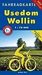 Fahrradkarte Usedom, Wollin: Mit Osts...