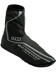 West Biking Überschuh/Überziehschuhe für Regen, wasserdicht, warm, GrößeM/L,Grün/Rot