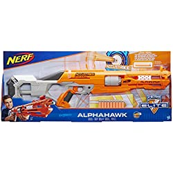 Nerf- Accustrike Alphahawk, B7784EU4,