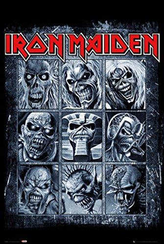 Grupo Erik Editores Iron Maiden Eddies Poster