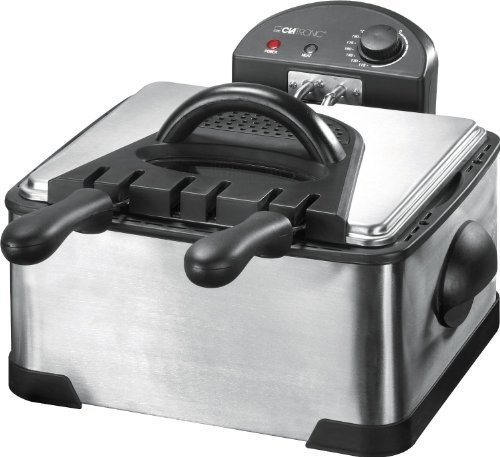 Clatronic FR 3195 Double Deep Fat Fryer by Clatronic