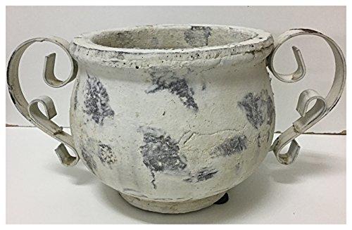 Keramik/Topf Valo creme-antik 1st.