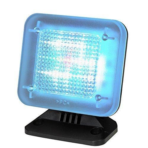 fernseh simulator tiiwee LED TV Simulator mit 12 LED's und 3 wählbaren Programmen - Lichtsimulation zum Einsatz ALS Einbruchschutz -Fernsehsimulator - Fernseh-Atrappe - Fake TV