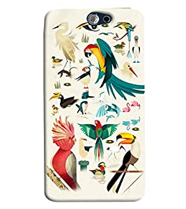 Expert Deal 3D Printed Hard Designer HTC One A9 Mobile Back Cover Case Cover