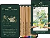 #7: Faber-Castell 12 Pastel Pencile Pitt Quality 10 pencile