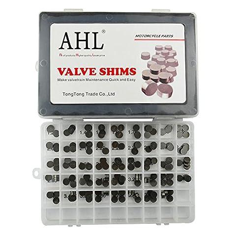 AHL 9.48mm Ventil Shim Set 4x44pcs Ventilspiel Kit für Arctic Cat DVX 400 2004-2008
