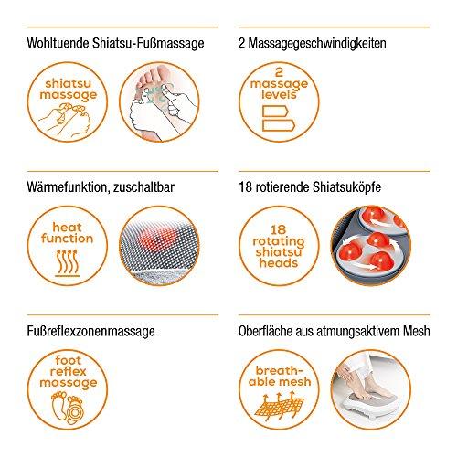 Beurer FM 60 Shiatsu-Fußmassagegerät - 5