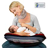 Kradyl Kroft 5in1 Baby Feeding Pillow with Detachable Cover (Panache)