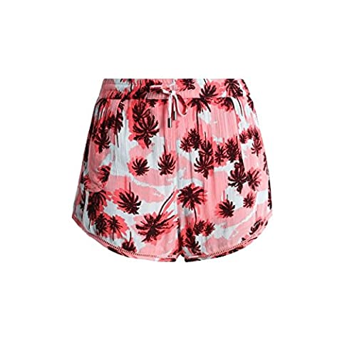 Short Superdry Pastel Palm Mini Short Acid Pop Plm