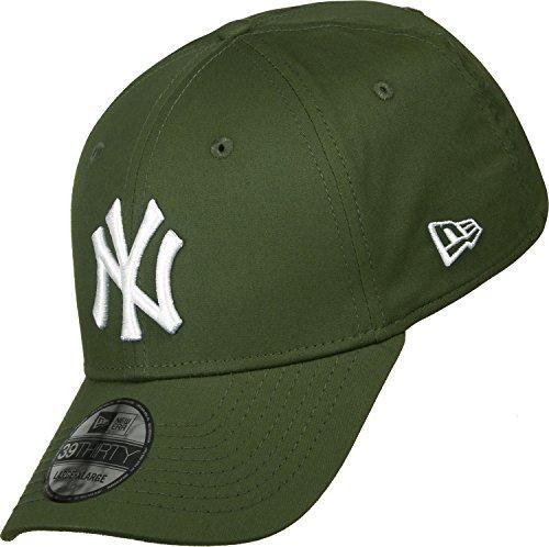 New Era League Essential 3930 Neyyan Rig - Schirmmütze Linie New York Yankees für Herren, Farbe Grün, Größe M-L