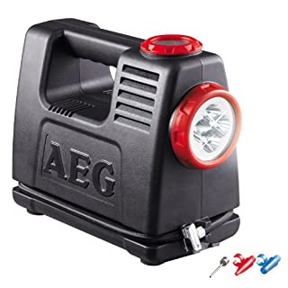 AEG Automotive AEG 97180 Rechargeable air and power source LA 10, mobile power source with 12 V and 230 V adapter, max. 10 bar
