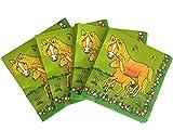 20 Servietten * MEIN PONYHOF * für Kindergeburtstag oder Mottoparty // Napkins Kinder Geburtstag Reiten Pferde Pony Motto Party