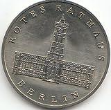 DDR Jägernr: 1614 1987 A Stgl./unzirkuliert Neusilber 1987 5 Mark Rotes Rathaus Berlin (Münzen für Sammler)