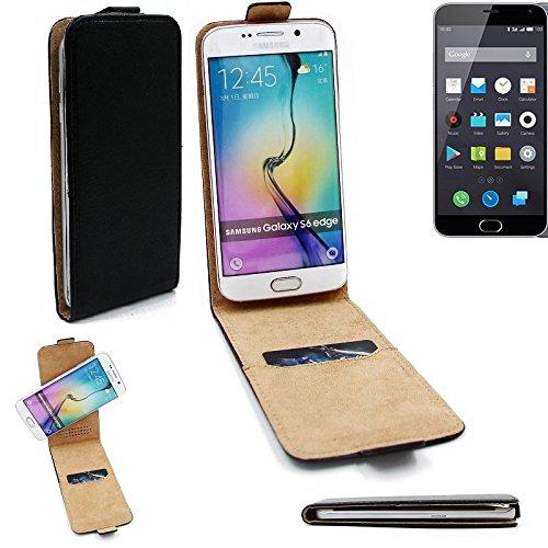 K-S-Trade per Nokia 130 Dual SIM Copertura Smartphone Cassa di Protezione Slim Flipstyle Cover Custodia Protettiva Nero 360° Pelle Artificiale per Nokia 130 Dual SIM