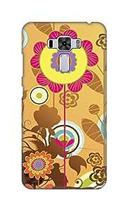 SWAG my CASE Printed Back Cover for Asus Zenfone 3 Laser (ZC551KL)