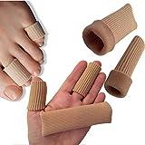 DenadaDance Silikon Bandagen zur Fingerunterstützung - Packung von 2 - Fingerschutz / Zehenschutz