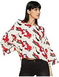 Amazon Brand - Symbol Women's Kimono Sleeve Top