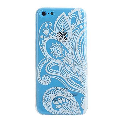 MOONCASE pour iPhone 5G / 5S Case Coque Silicone Gel TPU Housse Case Étui Cover X09 X07 #1207