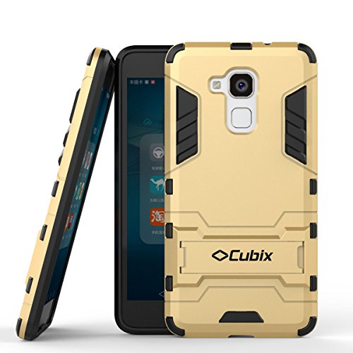 Armor Cubix Defender Case For Huawei Honor 5C Case Back Cover ProCase Kickstand Hybrid Protective Cover Stand Armor Case For Huawei Honor 5C Gold  available at amazon for Rs.299