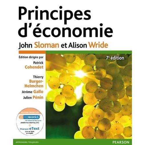 Principes d'économie 7e édition : Pack Premium FR/Ang : Livre en français + eText & MyLab en anglais - Licence étudiant 12 mois