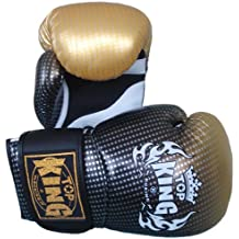 "Top King Muay Thai guantes de boxeo Super Star tkbgss-01-gd ""aire de oro 10 – 12 – 14 – 16 oz."