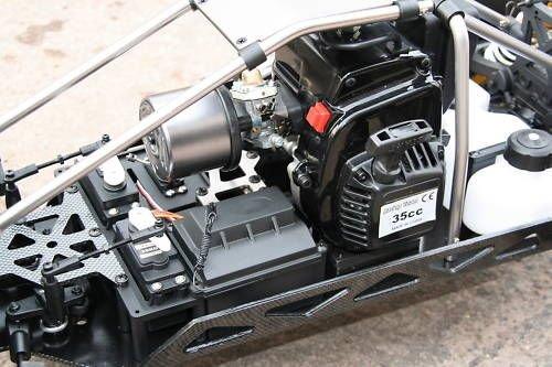 RC Auto kaufen Monstertruck Bild 5: RC MEGA MONSTER TRUCK 1:4 4X4 RTR 35ccm 4PS 80Km/h VERBRENNER 1:5 NEUHEIT*