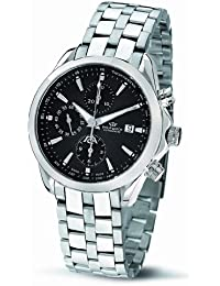 Philip Blaze Men's Quartz Watch with Silver Dial Chronograph Display and Silver Stainless Steel Strap R8243995125
