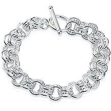 HMILYDYK Bracelet plaqué argent sterling 925 pour femme