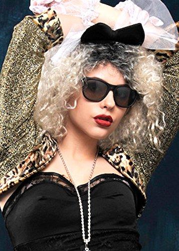 80er Jahre Madonna Style Black -